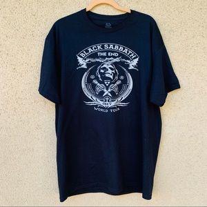 New Black Sabbath graphic tee shirt black obey XL
